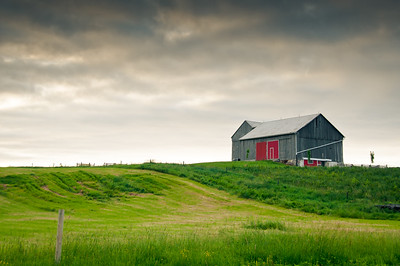 Barn On Ridge