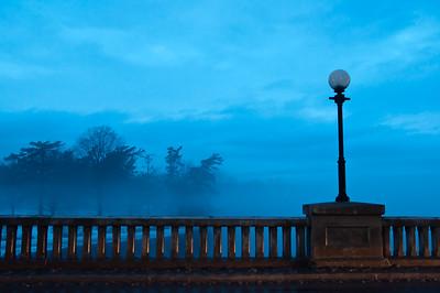 Blue Beyond the Balustrade