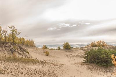 West Dunes in Autumn