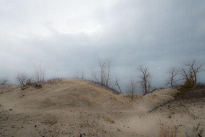 County Dunes after Storm