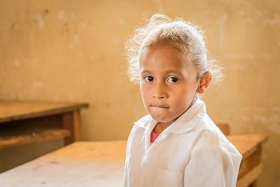 Rural School Girl