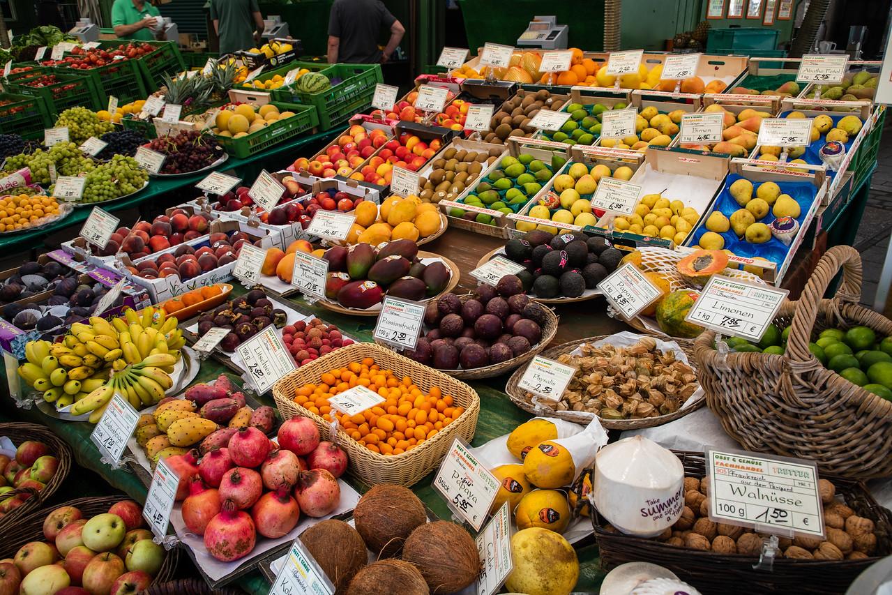 Viktualienmarkt -Munich's Daily Outdoor Market
