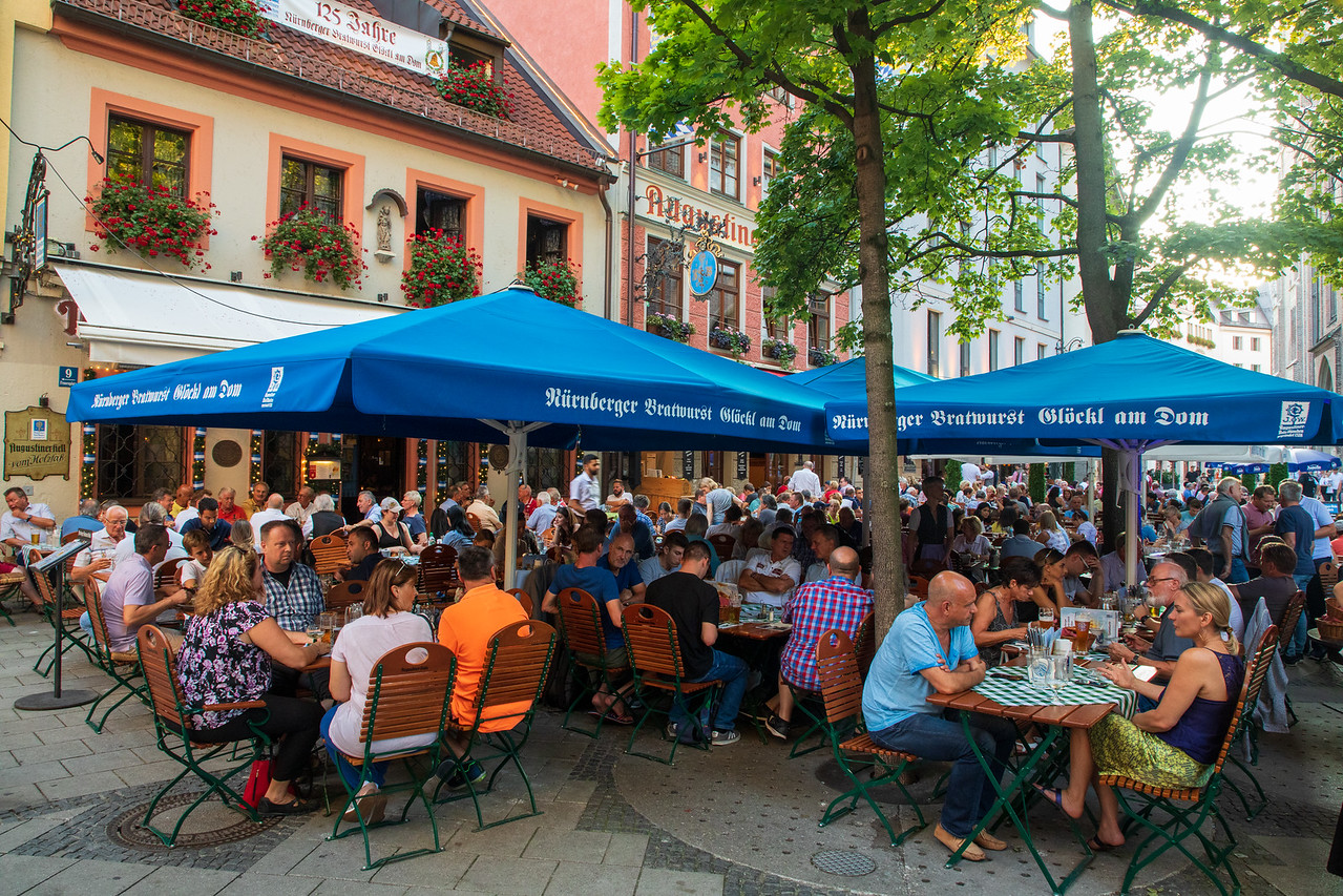 Augustiner an Platzl is a Great Place to Eat in Munich