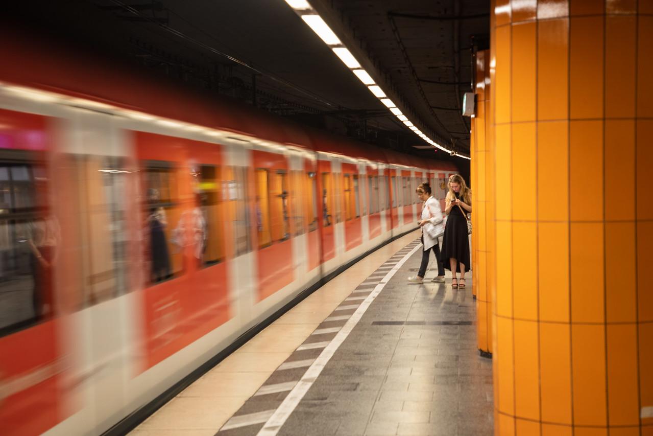 S-Bahn in Munich