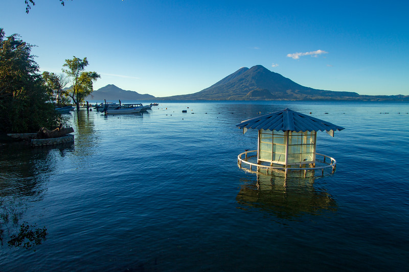 Lake Atitlan from Panajachel, Guatemala