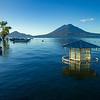 Lake Atitlan from Panajachel, Guatemala