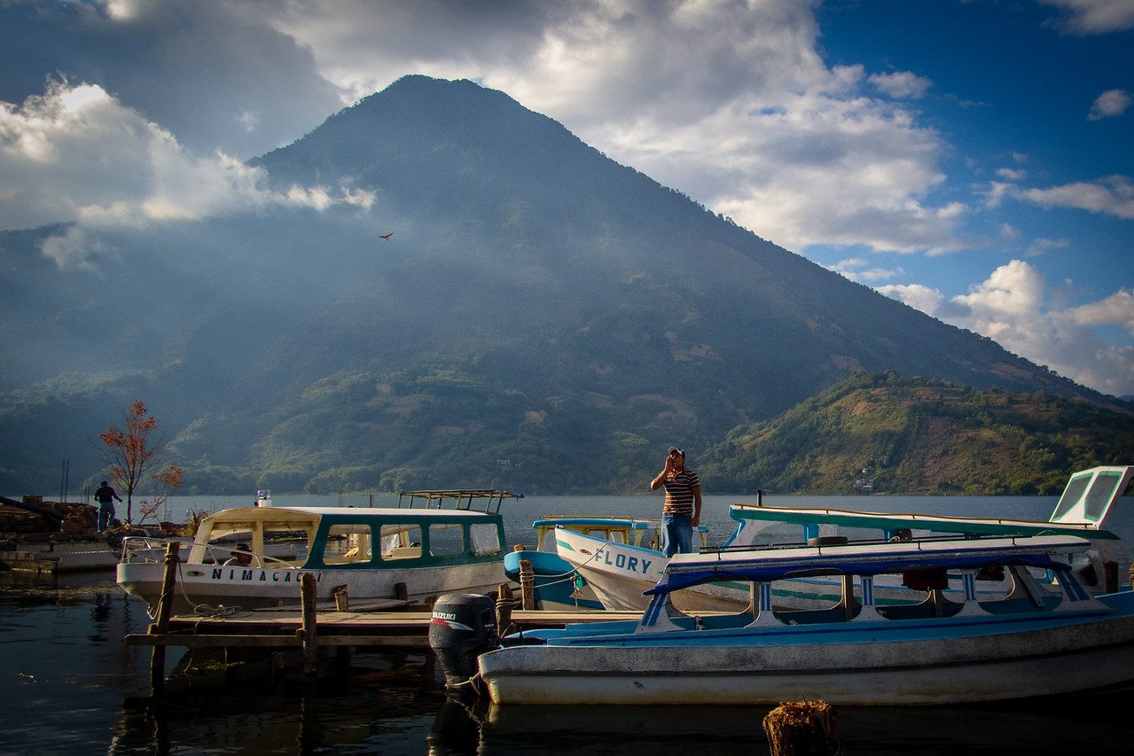 Water Taxi for Lake Atitlan in Panajachel Guatemala