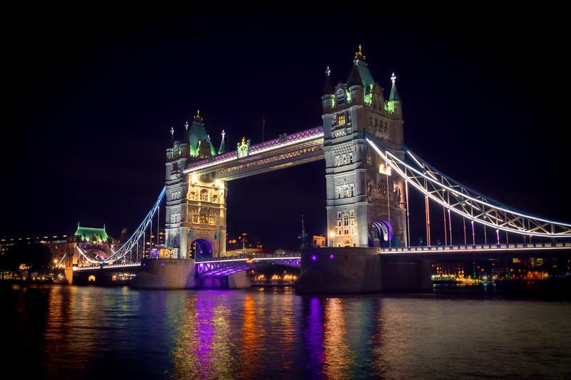 Tower Bridge in Colour