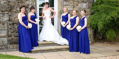 Bride & Bridesmaids, Atholl Palace