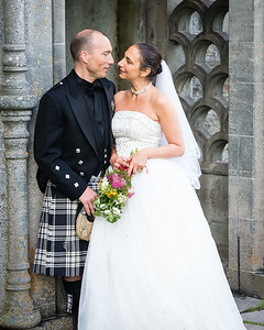 Annie & Nial at Castle Menzies