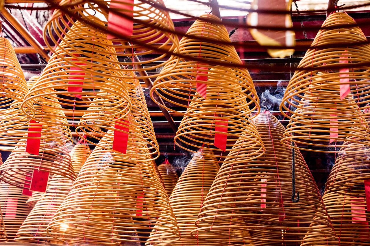 Image of Man Mo Temple in Hong Kong