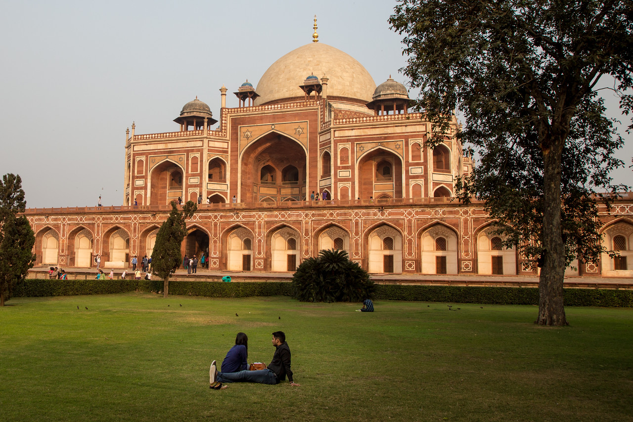 A visit to Humayun's Tomb In New Delhi is free