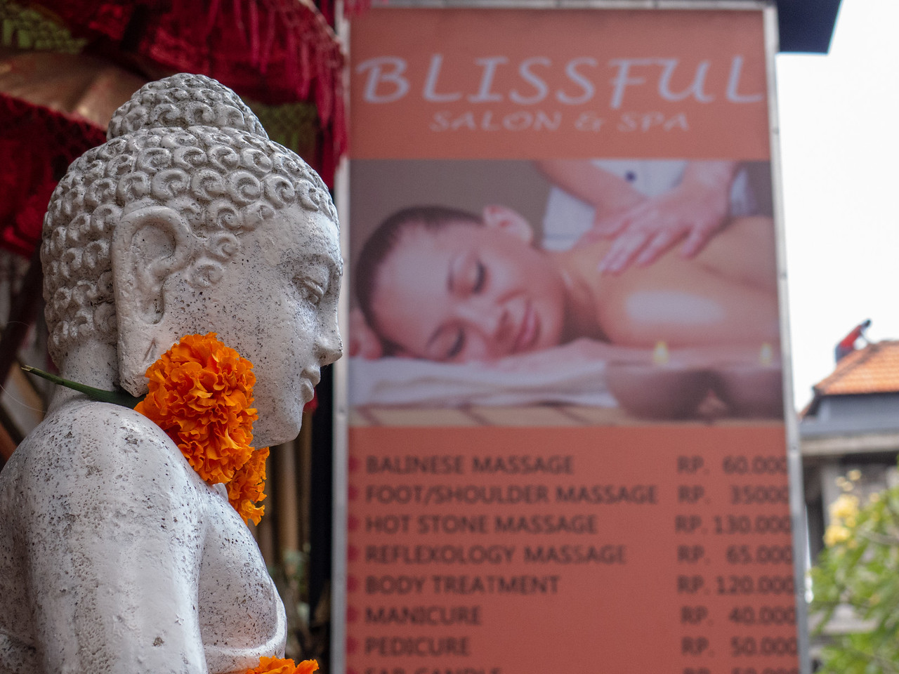 Blissful Massage in Ubud