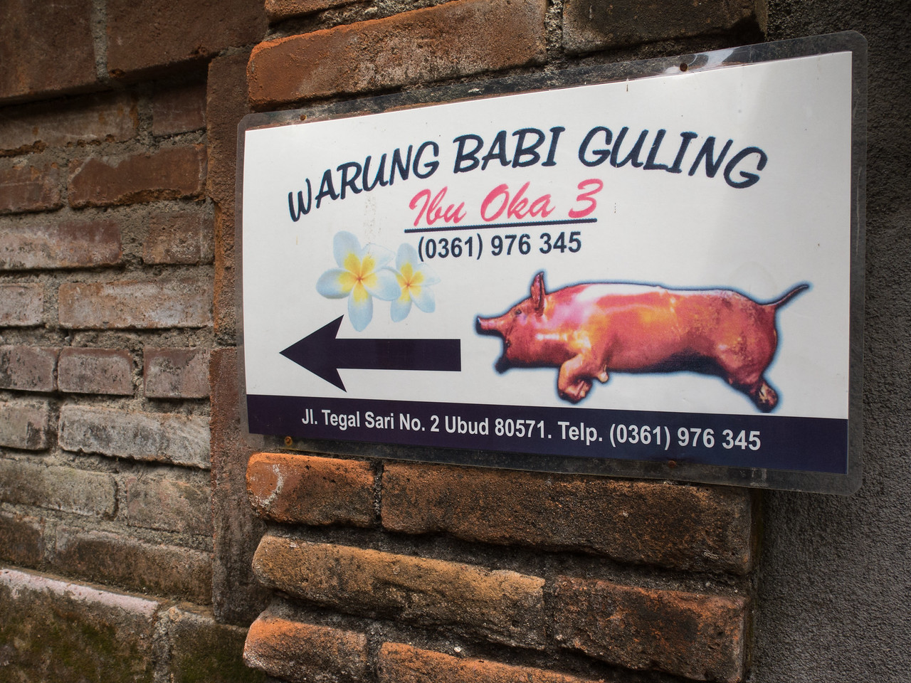 Babi Guling Sign