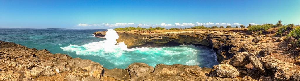 Devil's Tear on Nusa Lembongan Island