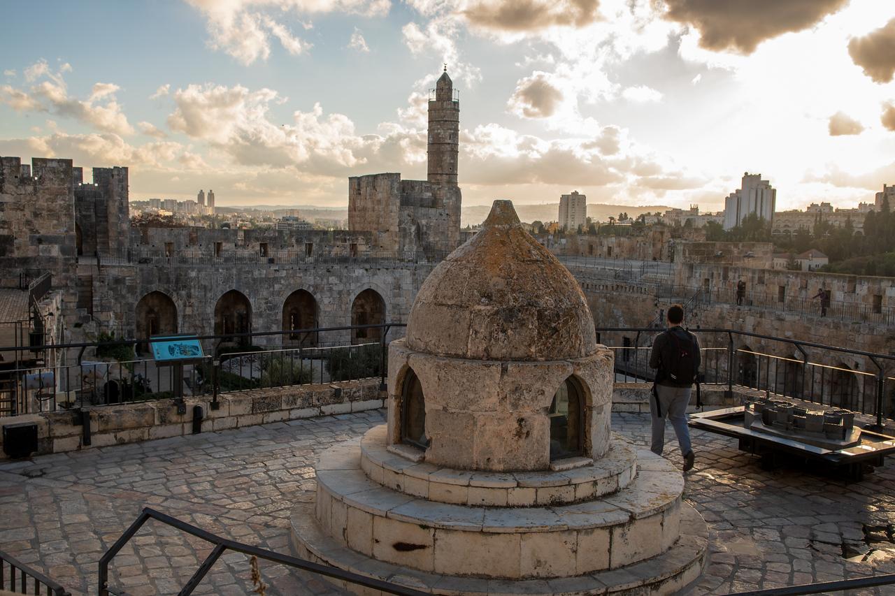 Ramparts Walk In Jerusalem