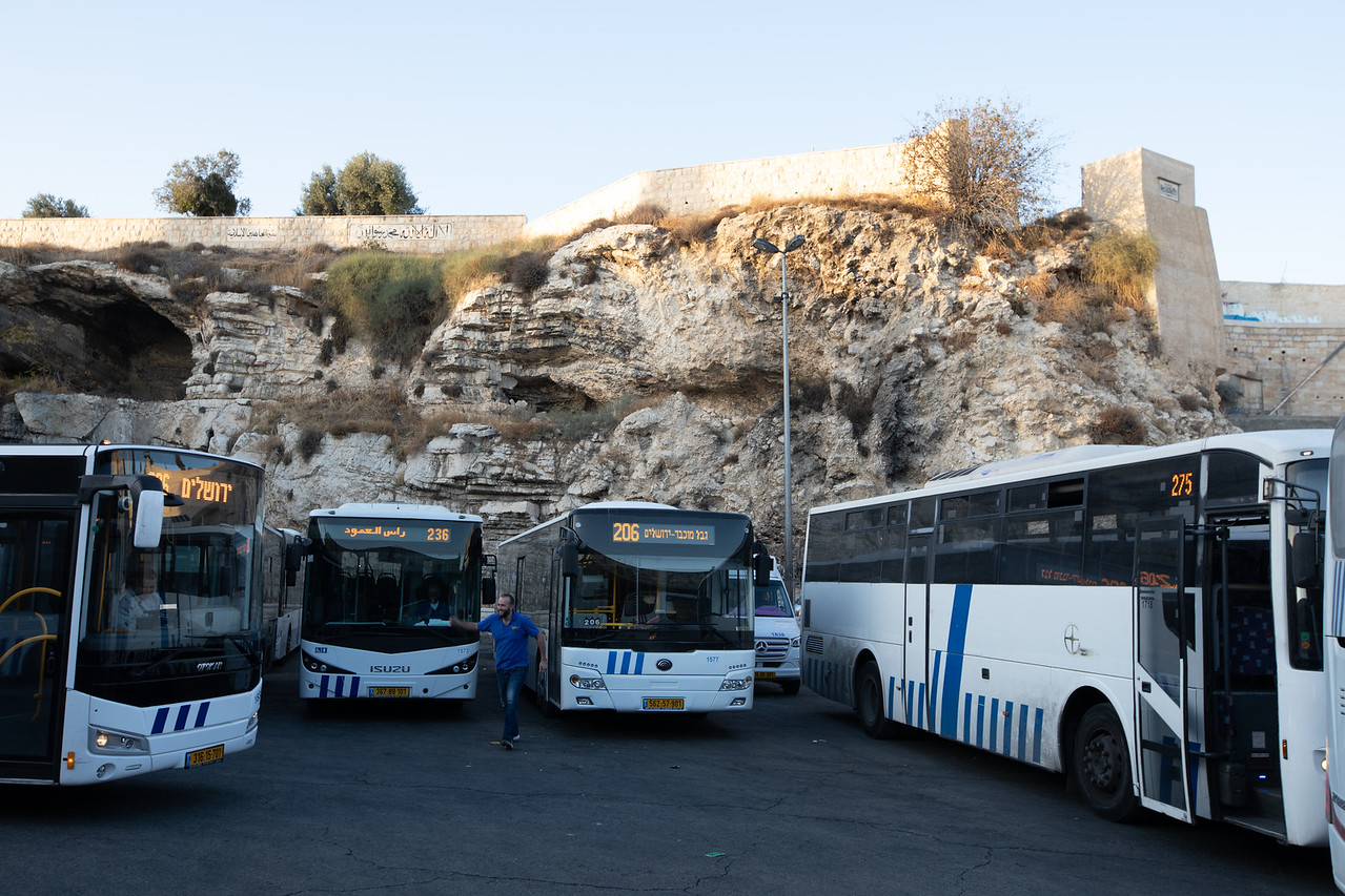 Golgotha From the Jerusalem Bus Station
