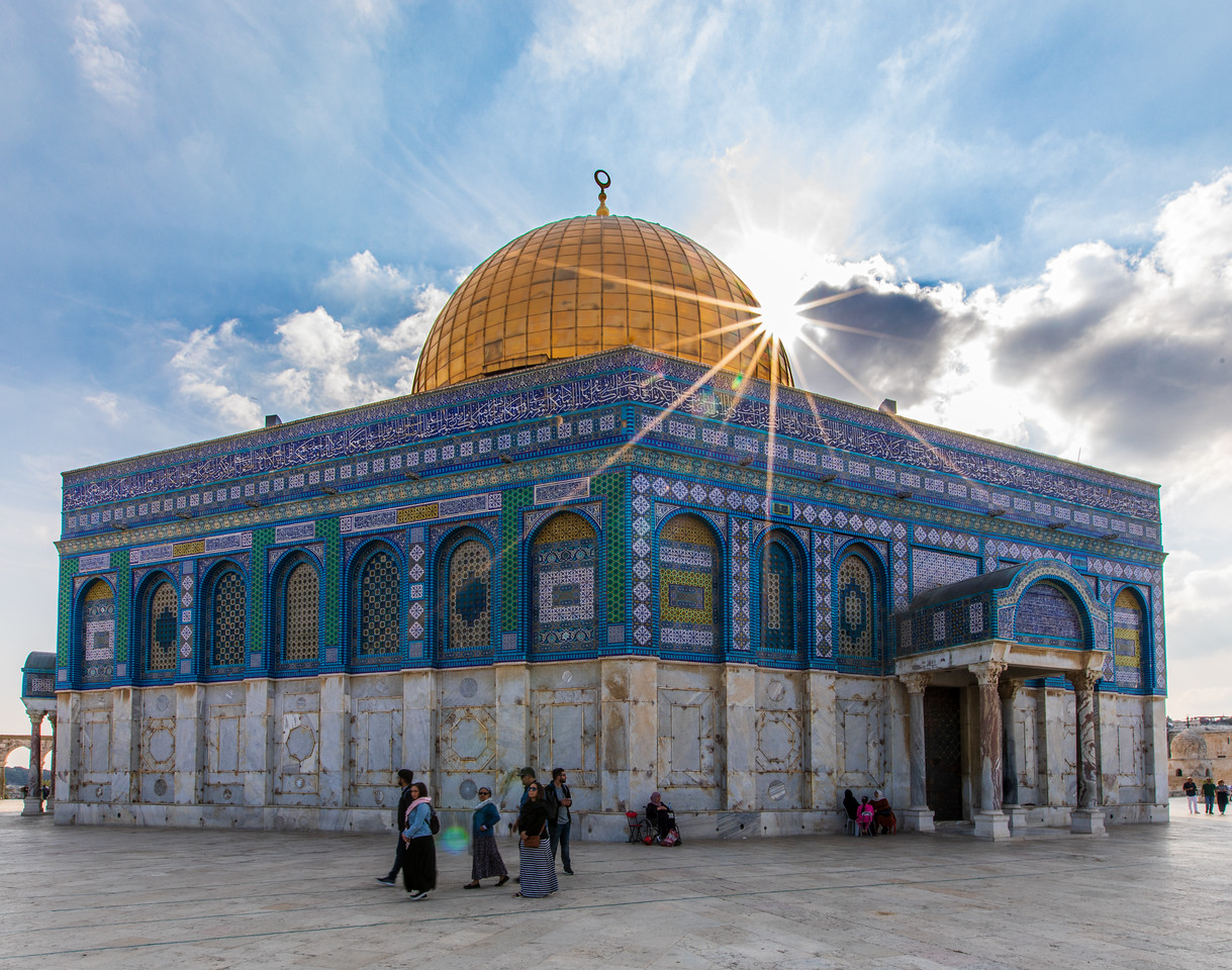 Dome of the Rock Mosque on the Temple Mount