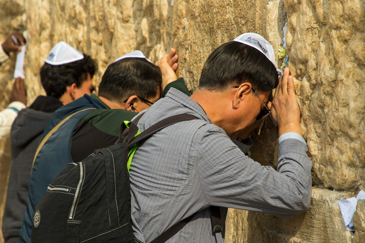 Visiting the Wailing Wall is a Top thing to do in Jerusalem