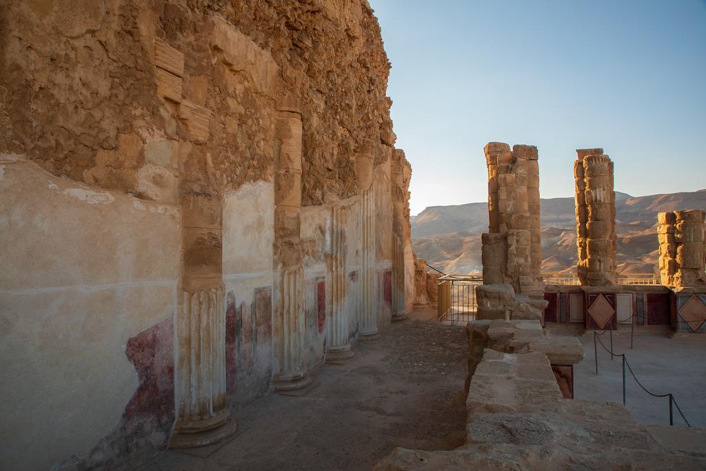 Roman Ruins at The Masada