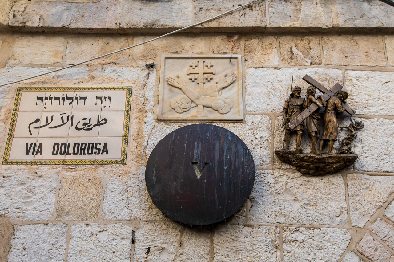 Walking the Path of the Via Dolorosa is a top thing to do in Jerusalem