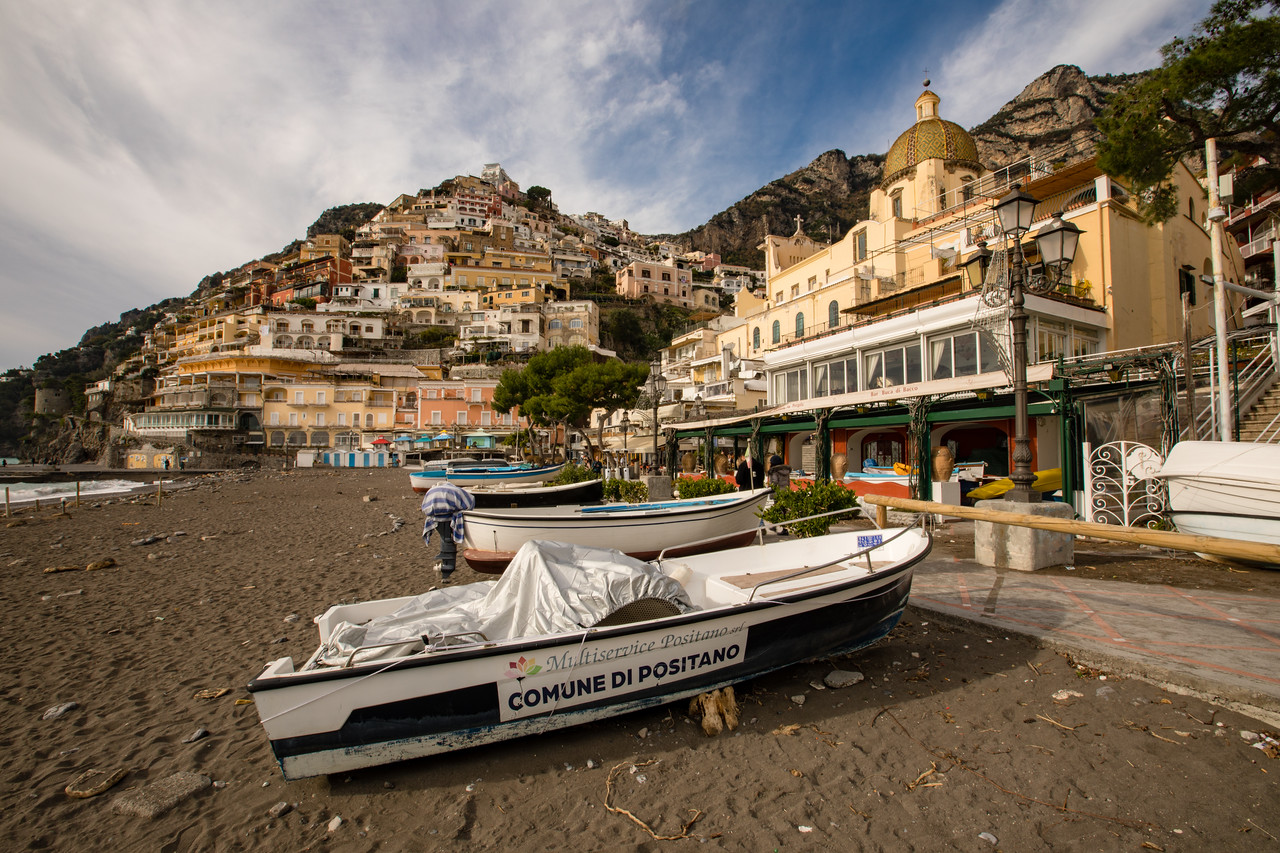 Driving the Amalfi Coast