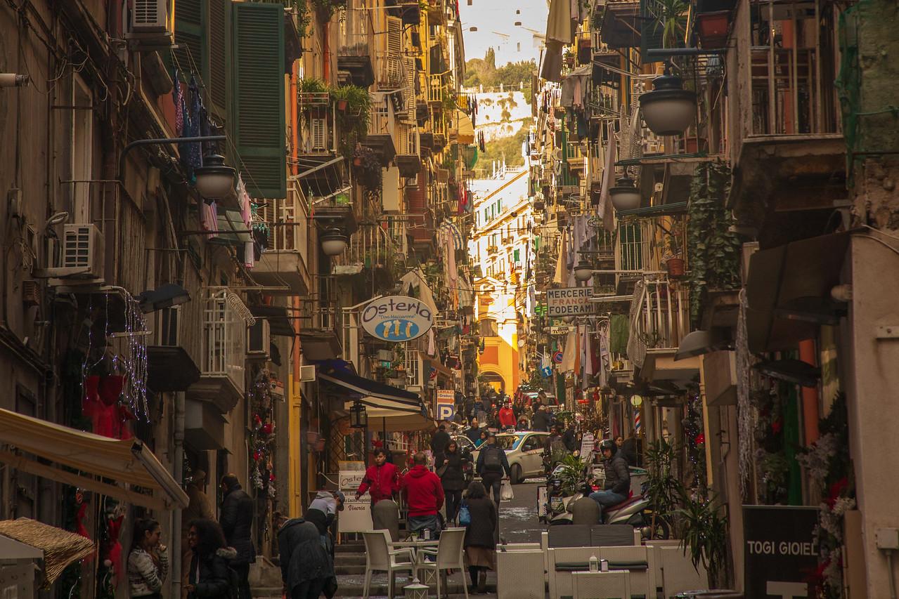Неаполь, Италия Уличная сцена Неаполь за один день Неаполь за один день BL2A4478 X2