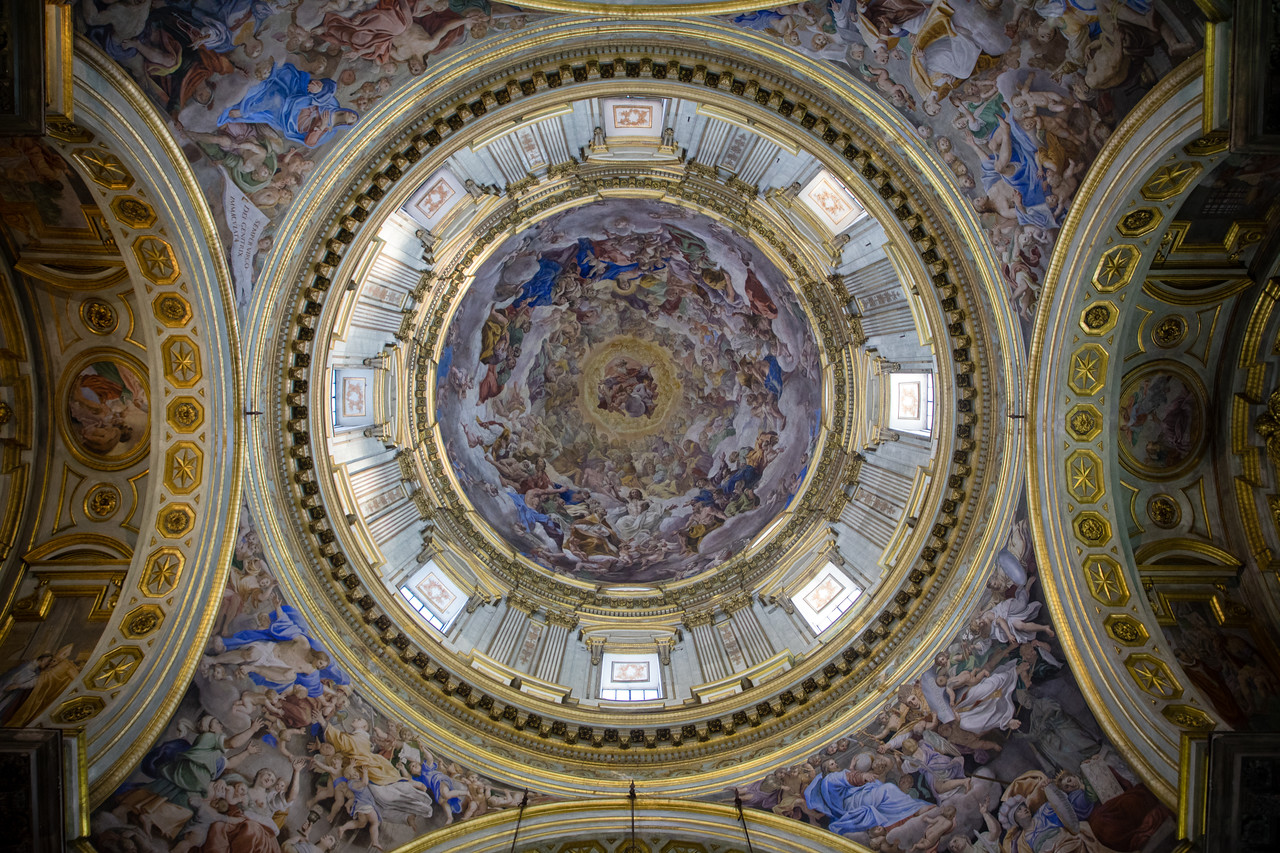 The Ceiling of Naples Cathedral