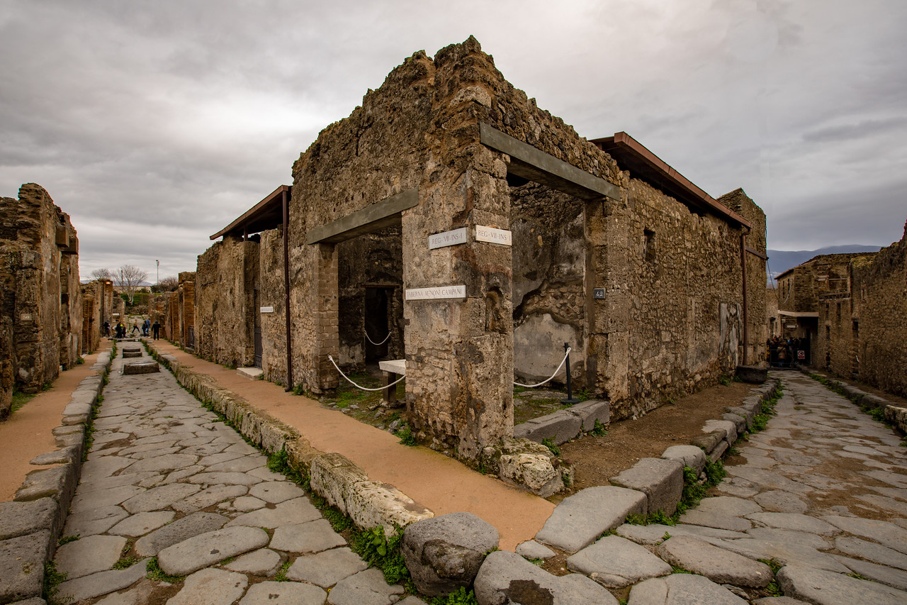 Visit Pompeii in the off-season, and you may be lucky to have the streets to yourself.