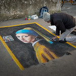 Street Painter in Rome