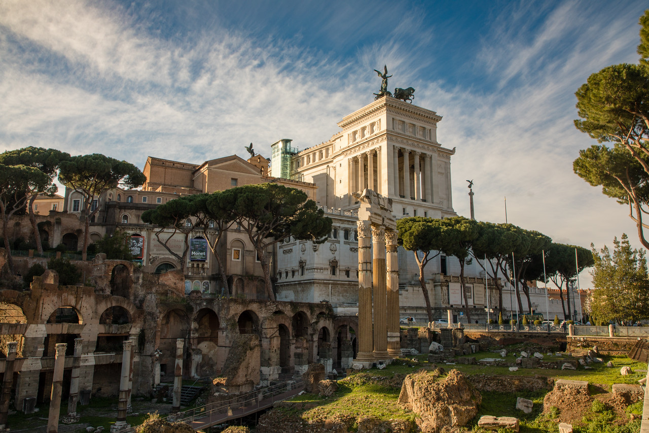 Altare della Patria is a must for 3 Days in Rome