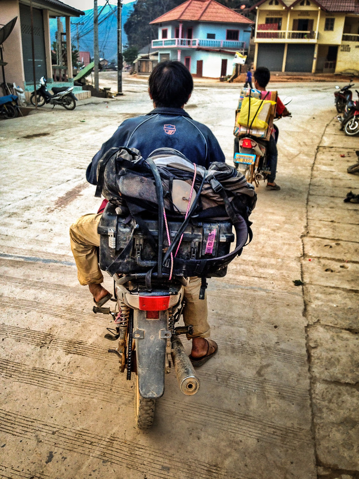 My Photo Gear on the Way to the Hill Tribe Village Ban Na Thui