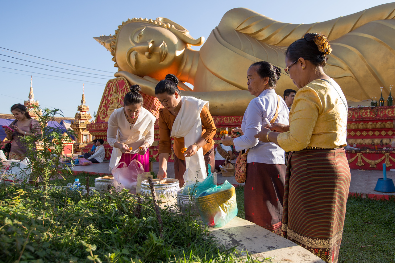 That Luang Festival in Vientiane, Laos