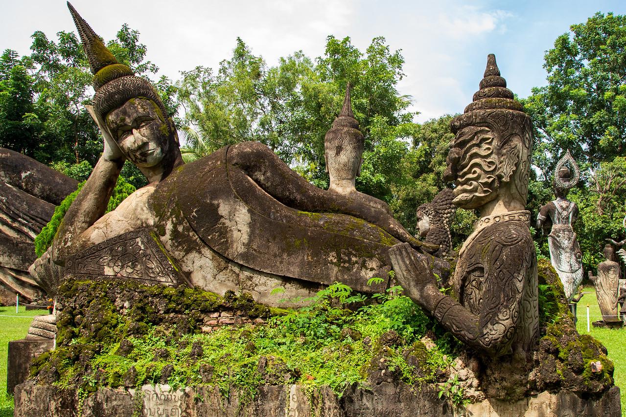 Reclining Buddha at Vientiane Buddha Park