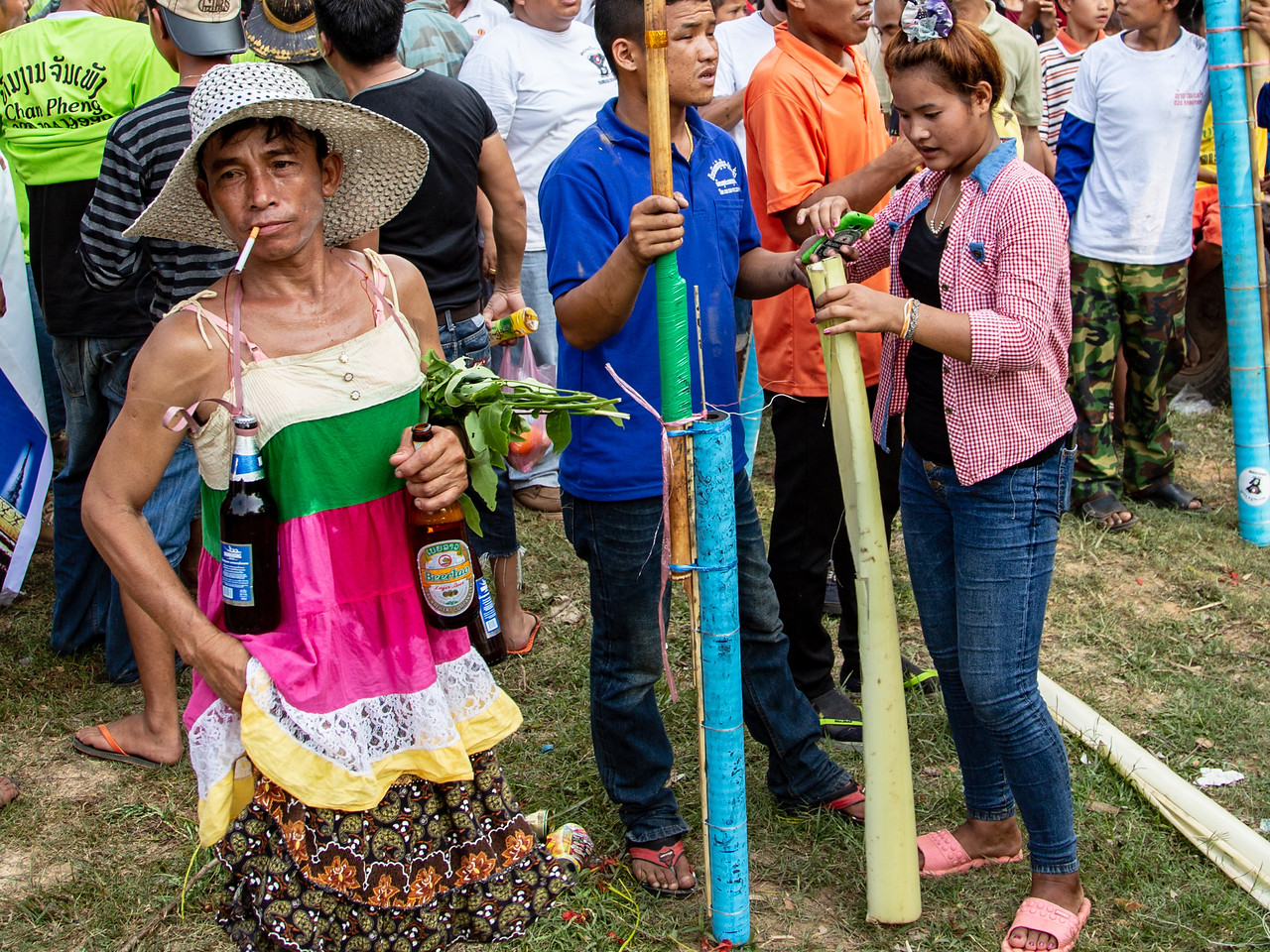 Explosives, Alcohol and Cigarettes Mix Freely at the Laos Rocket Festival
