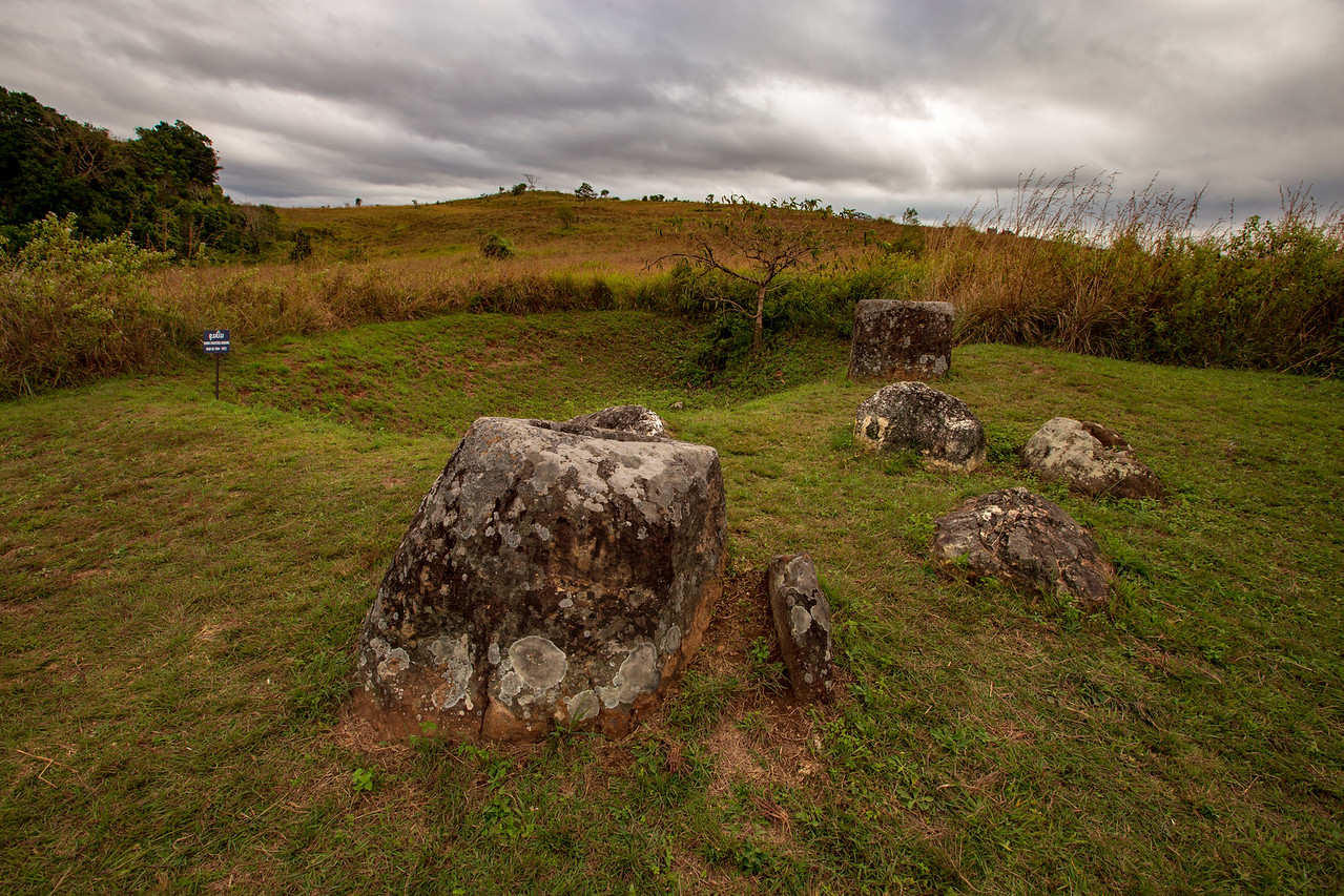 Bombs Were Dropped on the Ancient Plain of Jars Archeological Site During the War in Southeast Asia