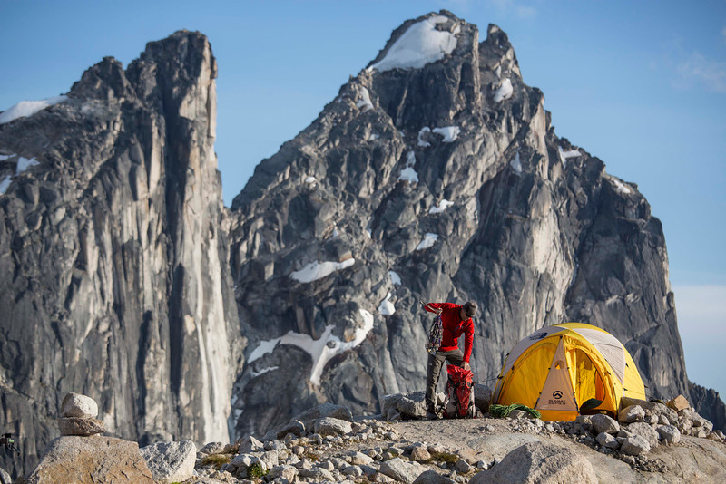 Conrad Anker, Bugaboos, British Columbia, Canada. Photographer: Jimmy Chin. The North Face Rights Expire: 09_15_15