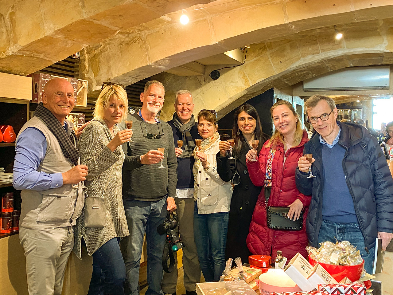 Our Group On The Valletta Food Tour