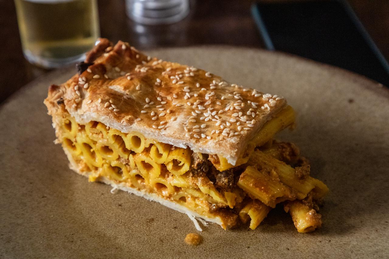 Timpana - (Macaroni Pie) on the Maltese Food Tour