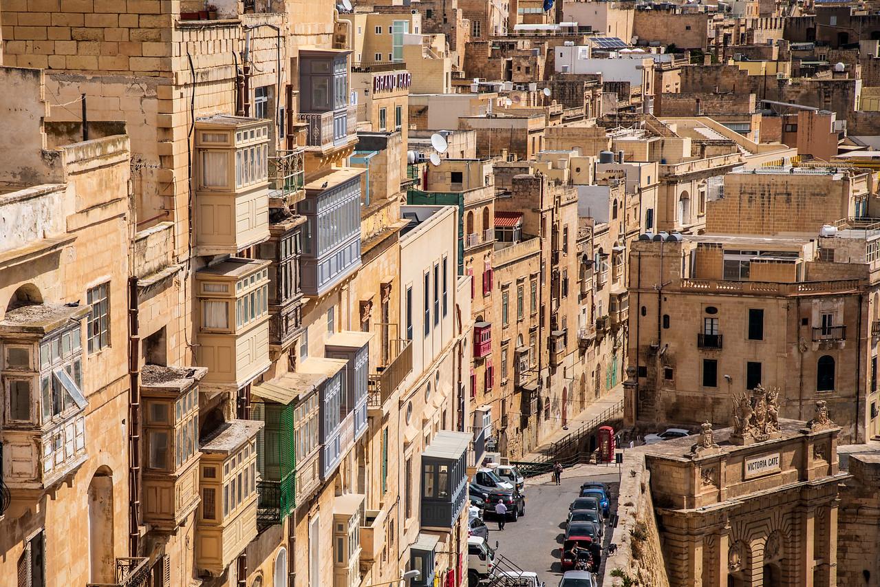 Architecture in Valletta Malta