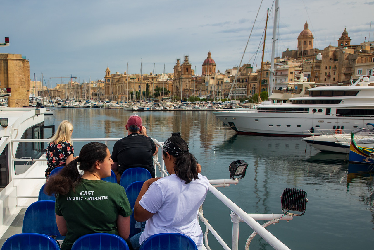Taking the Three Cities Ferry From Valletta