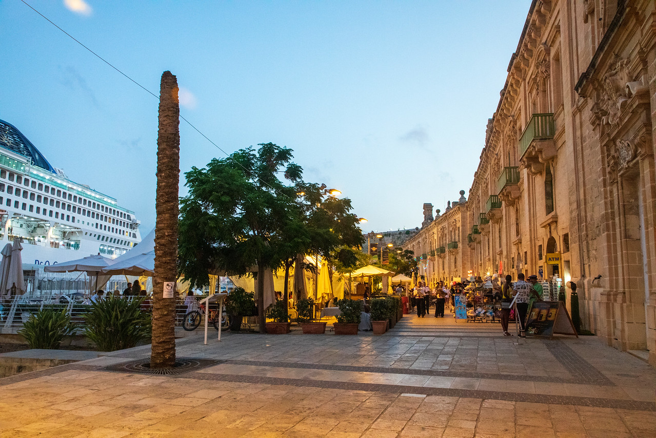 Image of the Malta The Valletta Waterfront