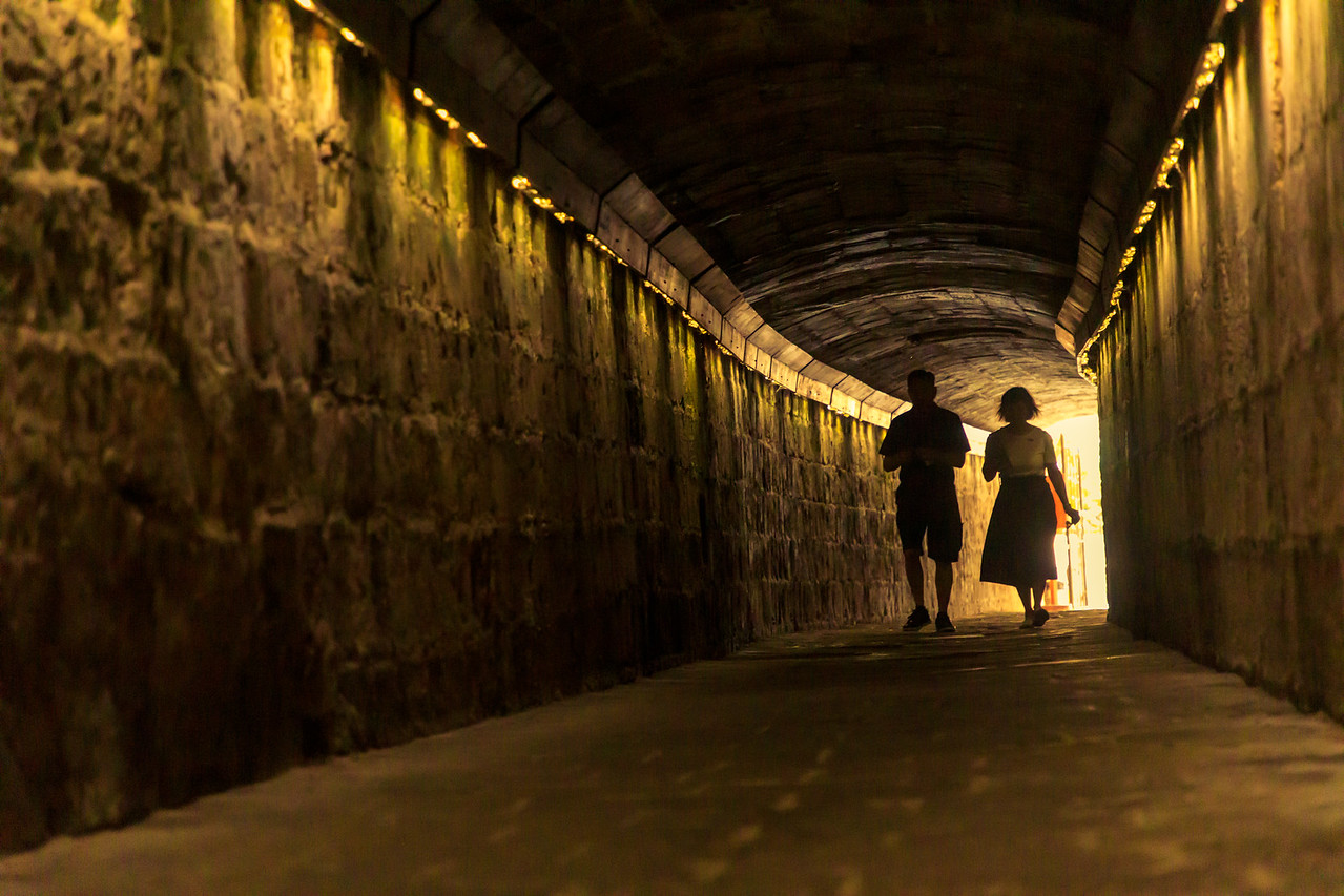 Underground Tunnel To The Malta Experience