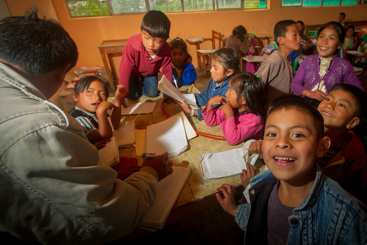 One Teacher - Fifty Students - My Favorite Mexican Charity is Helping