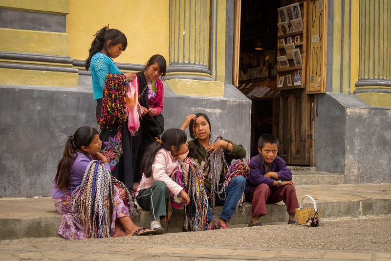 Indigenous Kids Taking a Break