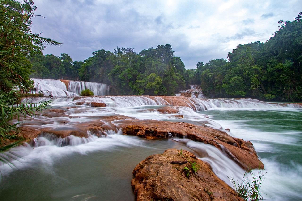 Photo: Cataratas de Agua Azul in Chiapas, Mexico