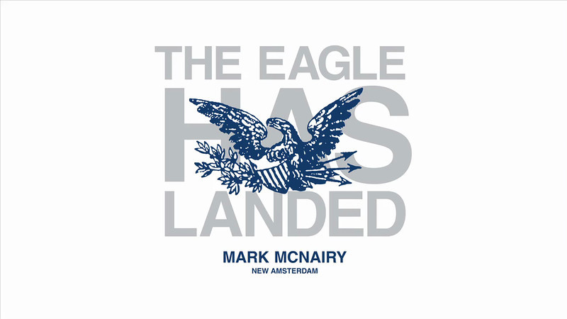 Mark McNairy: the Eagle has Landed