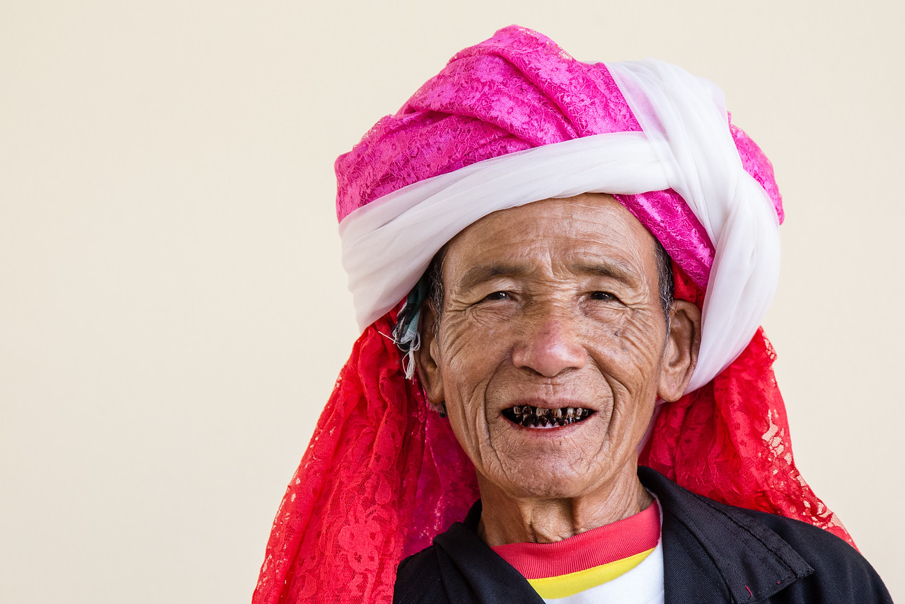 Man With Betel Nut Teeth