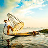 Inle Lake Myanmar FIshermen
