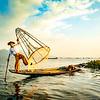 Inle Lake Myanmar FIshermen